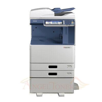 Toshiba E-studio 3555c Color Printer Scan Copier 35 Ppm Laser Tabloidledger