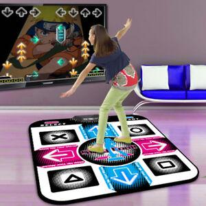 USB Non-Slip Dancing Step Dance Mat Pad for PC TV AV Video Household Game UK