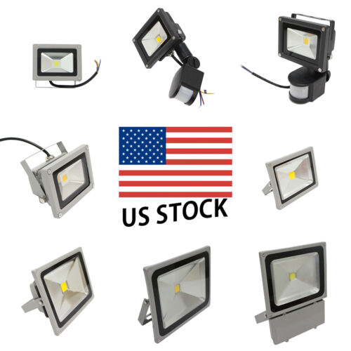 LED Flood Light GLW PIR IP65 Waterproof ...