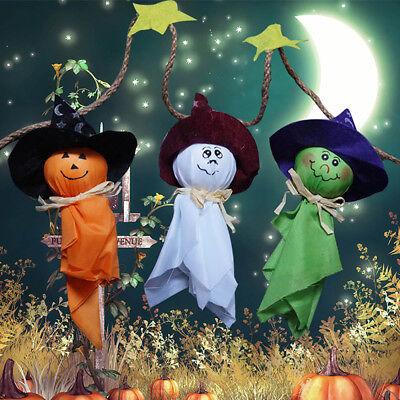 Hot 1m Halloween String Banner Gost Joke Pumpkin Cloth Spook Witch Hanging Decor