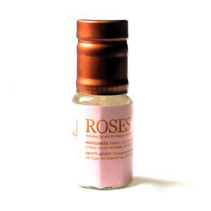 Rose Perfume Oil by Al Aneeq - Fresh Natural Rose Aroma Long Lasting oil 3ml