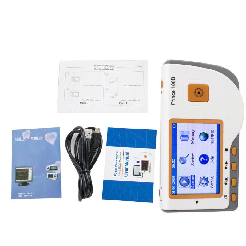 Mini Handheld EKG ECG Monitor Herz Observer Gerät Elektrokardiogramm Machine