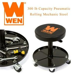 WEN 73012 300 lb Capacity Pneumatic Rolling Mechanic Stool Condtion: Lightly Used