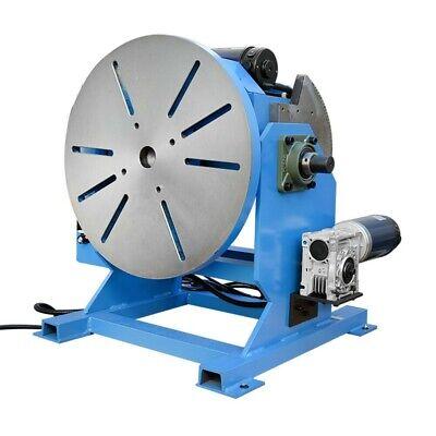 45 - 90 Degree Welding Positioner Welder Turn Table Tilt Foot Pedal Cap.110v