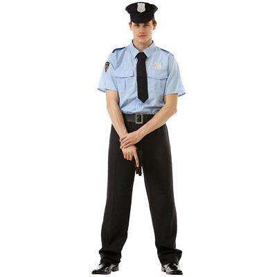 Good Cop Mens Halloween Costume   911 Police Officer Classic Uniform - Good Halloween Costumes Men