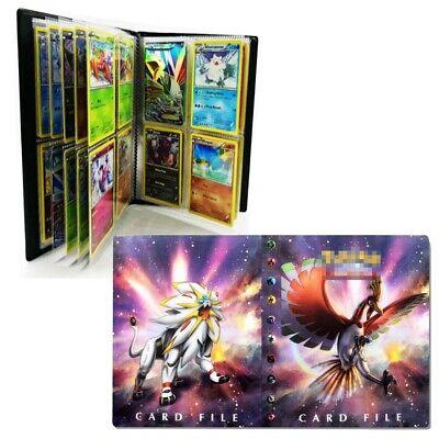 US Pokemon Pikachu Binder Portfolio Pocket Album Book Portfolio 240 Card Holders