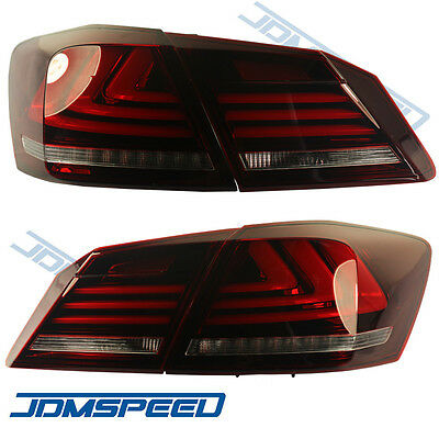 New TAIL LIGHTS LED BRAKE FOR 2013 2014 2015 HONDA ACCORD 4 DOOR SEDAN