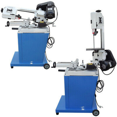 5 x 6 Vertical / Horizontal Metal Cutting Band Saw 3 PHASE MOTOR 220V 1/2HP 1 Phase Horizontal Band Saw