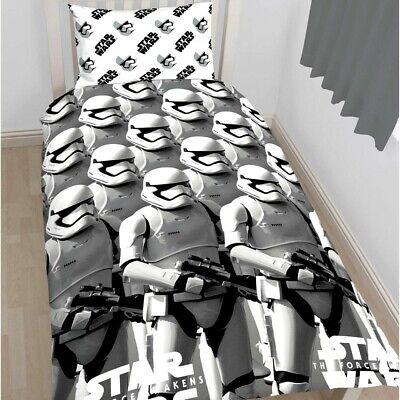 Kinder Bettwäsche Bettbezug Set STAR WARS  Episode VII The Force Awakens 135x200