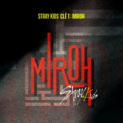 STRAY KIDS Clé 1 : MIROH 2SET CD+Photobook+Photocard+Etc+Tracking Code