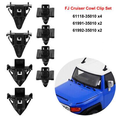 FOR 2007 2008 2009 2010 2011 2012 2013 2014 TOYOTA FJ Cruiser Cowl Clip Set