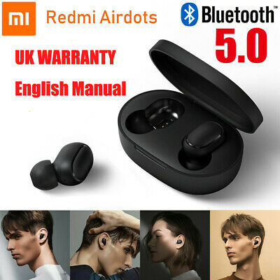 Xiaomi Redmi Airdots Wireless Bluetooth 5.0 Headphones TWS Earbuds Earphones Mic
