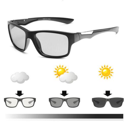 Men's Polarized Photochromic Sunglasses Mirrored Driving Sun