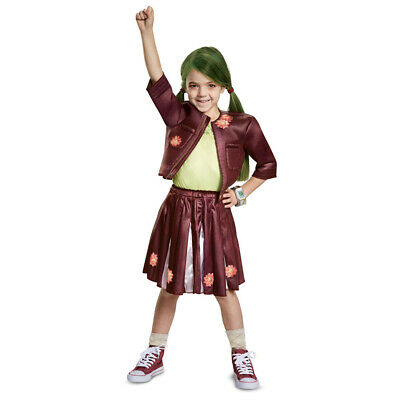 Cheer Costumes For Girls (Girls Disney Zombies Zoey Cheer)