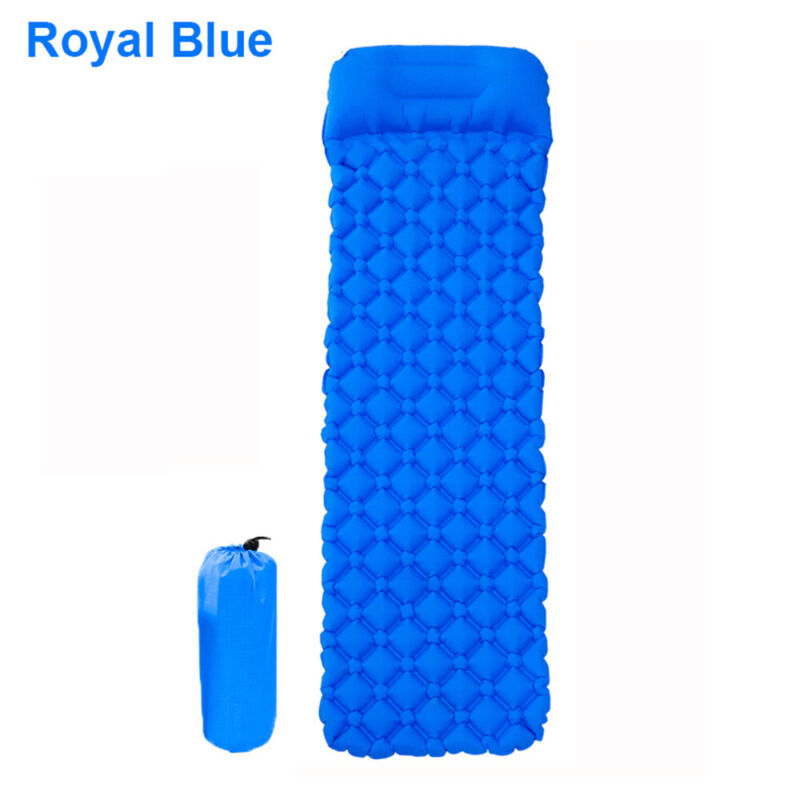 Inflatable Pads Hiking Mattress colorful/