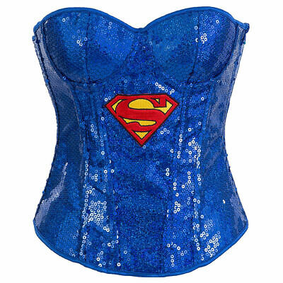 Supergirl Bustier Deluxe Adult Costume by Rubies](Supergirl Womens Costume)