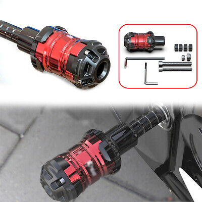 Universal Motorcycle CNC Frame Slider Anti Crash Engine Falling Protector M10+M8