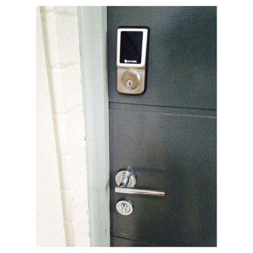 Touch bolt keyless digital deadbolt touchscreen door lock for 1 touch door lock