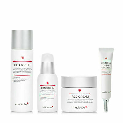 Medicube Red Line Special set Toner Serum Cream Ointment Acne Prone K-beauty