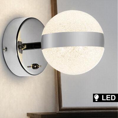LED Bola de Cristal Luz Pared Lámpara Diseño Foco Reflector Cocina Iluminación