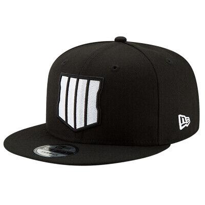 New Era MEN'S 9Fifty COD Black Ops 4 Cap Black White BNWT