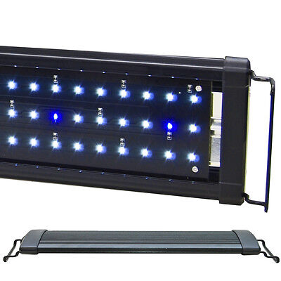"Beamswork 72"" EA 180 Timer White Blue 0.50W LED Aquarium Light Freshwater Fish"