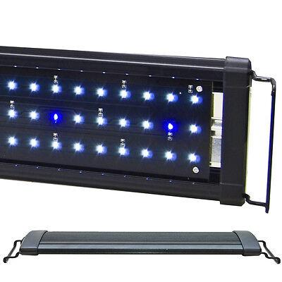 "Beamswork 48"" EA 120 Timer White Blue 0.50W LED Aquarium Light Freshwater Fish"