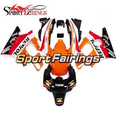 ABS Orange Black Fairing Kit For Honda CBR600F2 1991 1992 1993 1994 f2 Body Kits