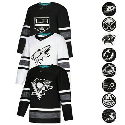NHL Adidas Men's Black 2019 NHL All Star Parley Authentic Jersey Collection