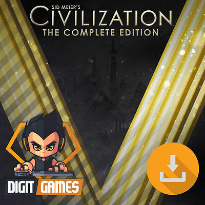 Civilization V 5 Complete Edition - Steam Key / PC & Mac Game - Civ [NO CD/DVD] - Civilizations Game
