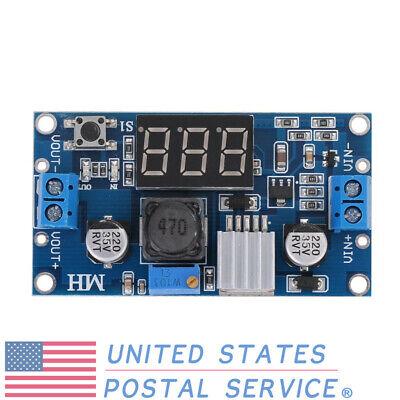 Lm2596 Dc Adjustable Buck Module Digital Voltmeter Led Display Regulator