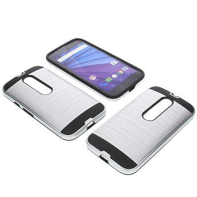 Parachoques de Aluminio para Motorola Moto G3 G 3. Generación Funda Protectora
