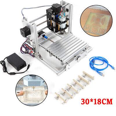 Cnc 3018 Mill Router Kit Usb Desktop Metal Engraver Pcb Milling Machine Mini Usa