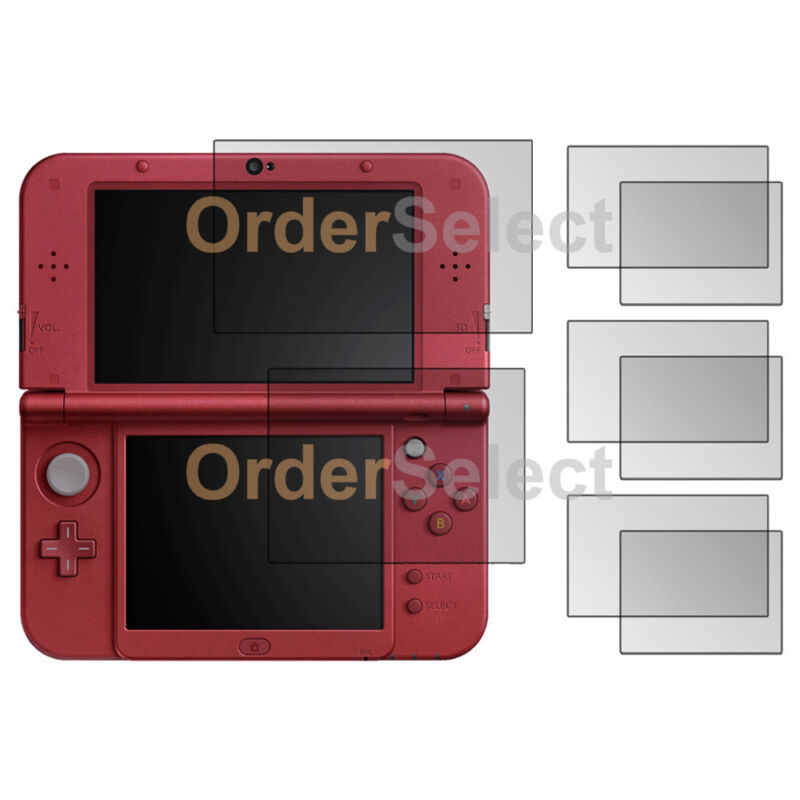 3X NEW LCD Ultra Clear HD Screen Protector for Nintendo 3DS XL (2015) 100+SOLD