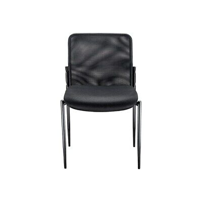 Staples Roaken Mesh Guest Chair Without Arms Black 204115