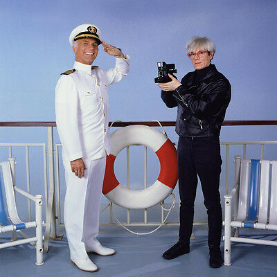LOVE BOAT TV SHOW ANDY WARHOL CAPTAIN STUBING PICTURE 8x10 PHOTO - Captain Stubing Love Boat