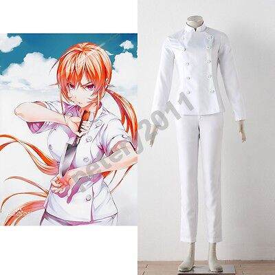 Food Wars! Shokugeki no Soma Erina Nakiri outfit cosplay halloween costume](No Costume Halloween Outfit)