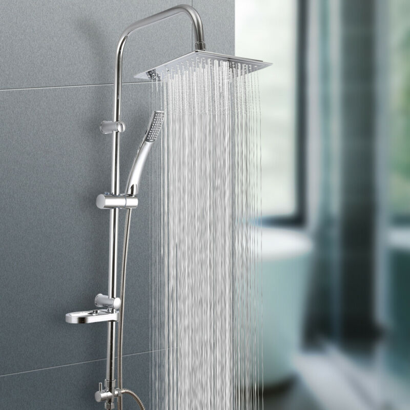 Duscharmatur Duschsäule Duschset Duschpaneel Überkopfbrause Regen Kopfbrauseset
