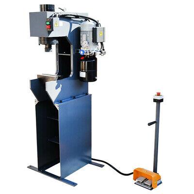 C-frame 25 Ton Hydraulic Press 7-78 Stroke 110 Volt Motor 3hp 3360 Rpm