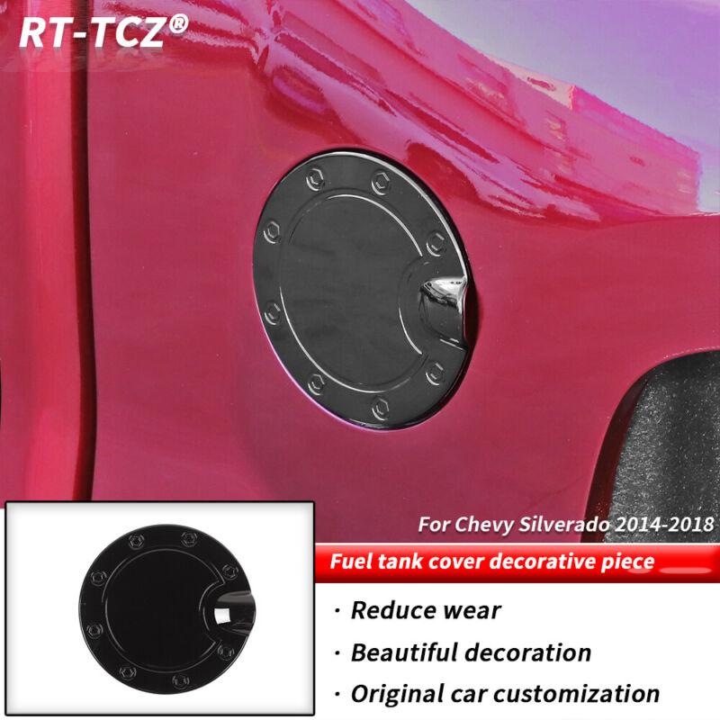 Fuel Door Tank Gas Cap Cover For Chevy Silverado GMC Sierra 2014-18 Accessories