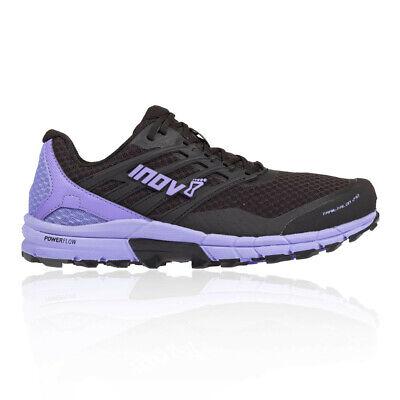 Inov8 Womens Trailtalon 290 Trail Running Shoes Trainers Sneakers Black Purple