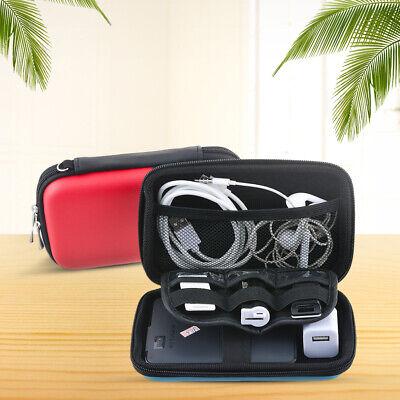 US Digital Storage Bag Travel Gadgets Organizer Case For Hard Disk/USB/Cable -