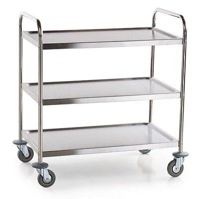 Dental Stainless Steel Cart