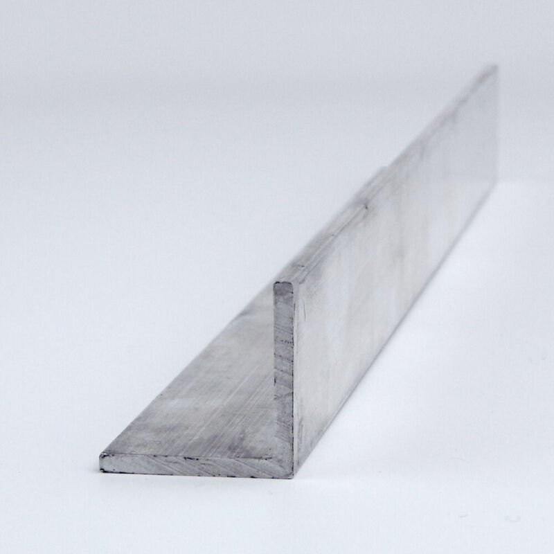 "2"" x 2"" x 0.125"" Aluminum Angle 6063-T52 : 72.0"""
