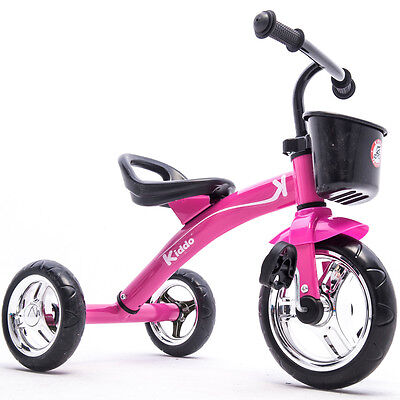 Kiddo Pink 3 Wheel Smart Design Kids Child Children Trike Tricycle Ride-On Bike