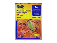 Sumvision A4 Premium Glossy Injet Photo paper 135gsm - 100 sheets - 4 Packs