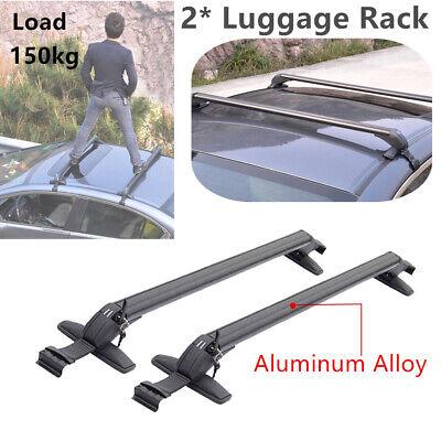 Genuine Aluminum Alloy Roof Top Rack Bar Luggage Rack Luggage Rack Cross Bars comprar usado  Enviando para Brazil