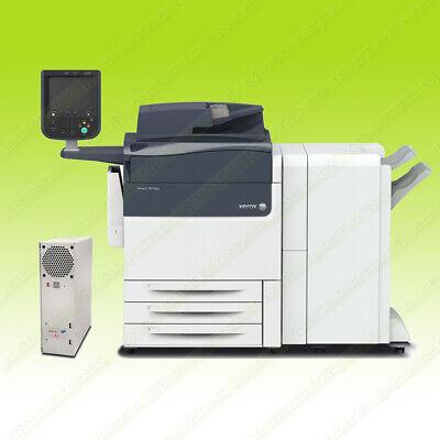 Xerox Versant 180 Press Color Commercial Digital Printer Finisher Fiery 80 Ppm