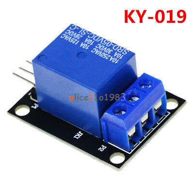 Ky-019 5v One Channel Relay Module Board Shield For Pic Avr Dsp Arm For Arduino
