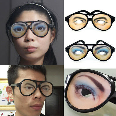 Fun Eyes Goggles Sexy Glasses Adult Women Men Halloween Party Costume - Glasses Fun